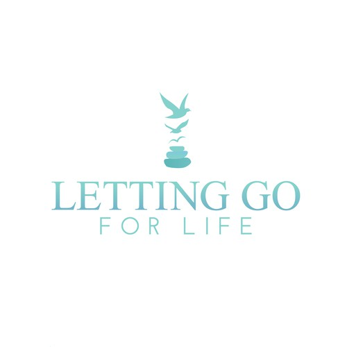 Healing services logo to symbolize 'Letting Go' of negative thoughts