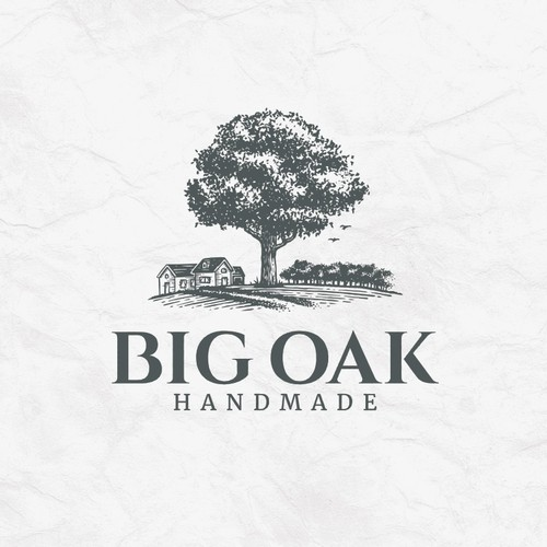 Big Oak Tree Logo