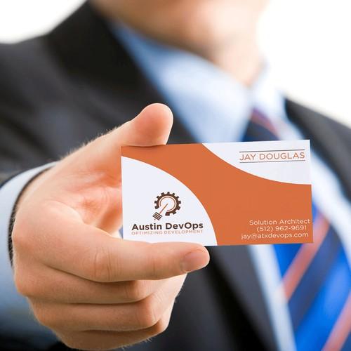 logo bussines card