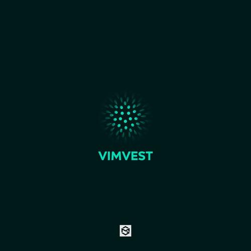 Bold logo for Vimvest.