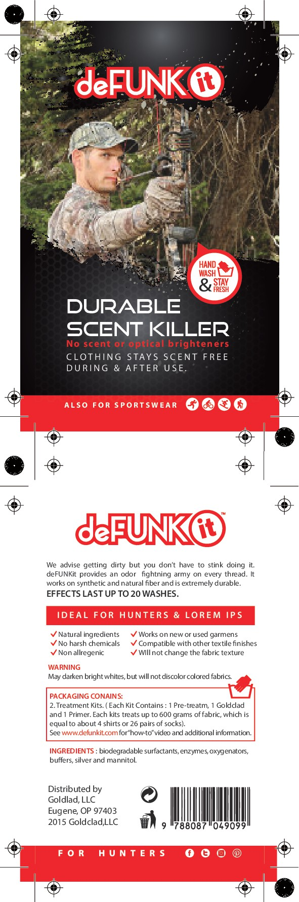 New deFUNKit product Label targeted at hunters