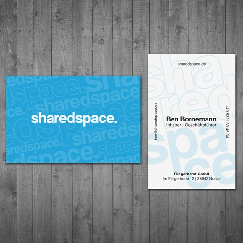 sharedspace business card
