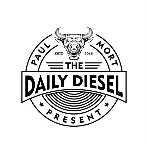 Daily Diesel Logo Design