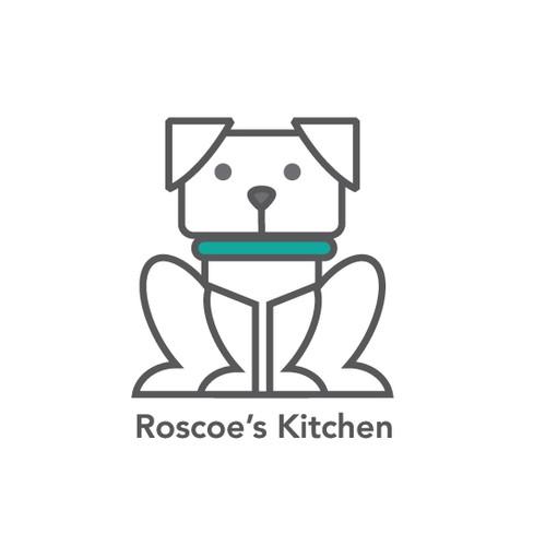 Logo for dog food
