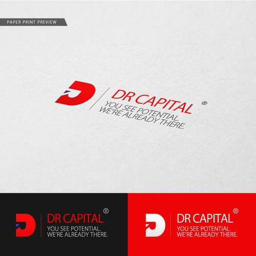 logo & CI design for DR CAPITAL