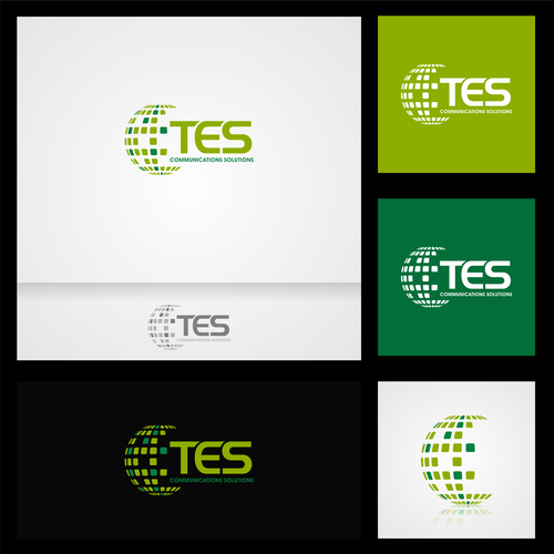 Create a modern logo for a well respected radio communications company
