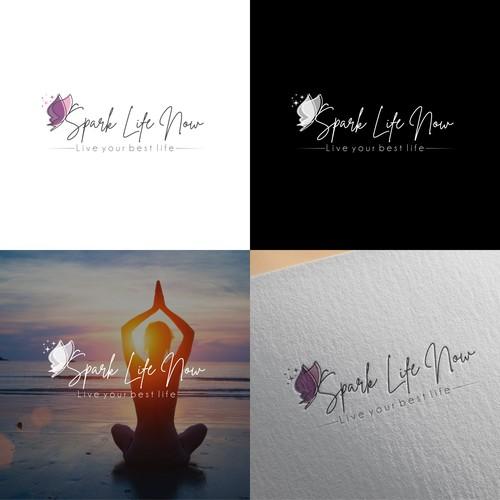 Logo concept for Spark Life Now