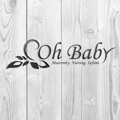 Maternity Clothing Boutique logo.  Help us brand our store!