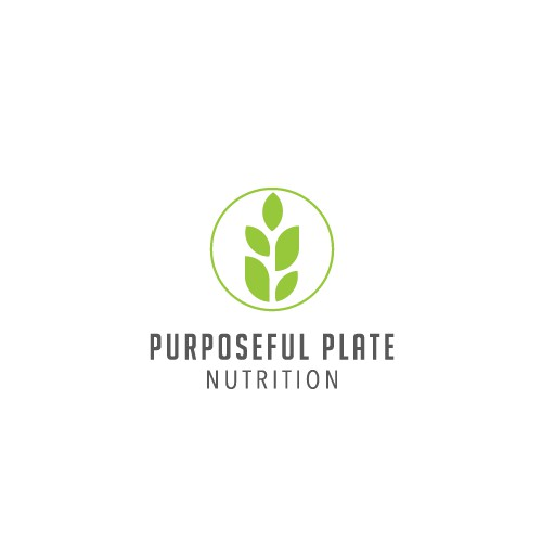 Logo Concept for Purposeful Plate Nutrition