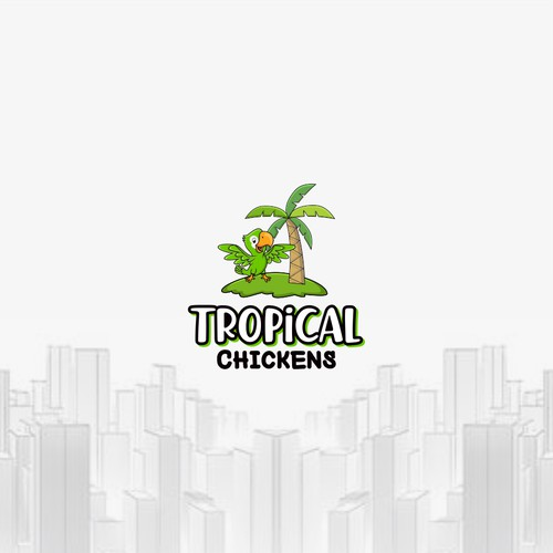 tropical chickens