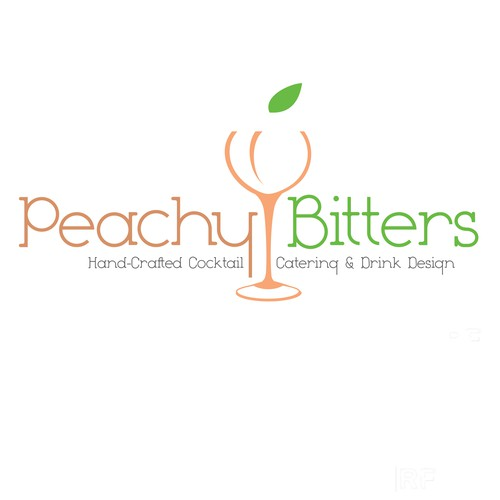 Concept for Peachy Bitters drink