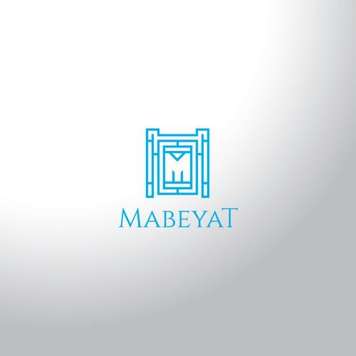 Real Estate Company Mabeyat Logo Design Concept