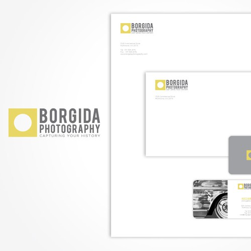Photography Business Logo and Business Card