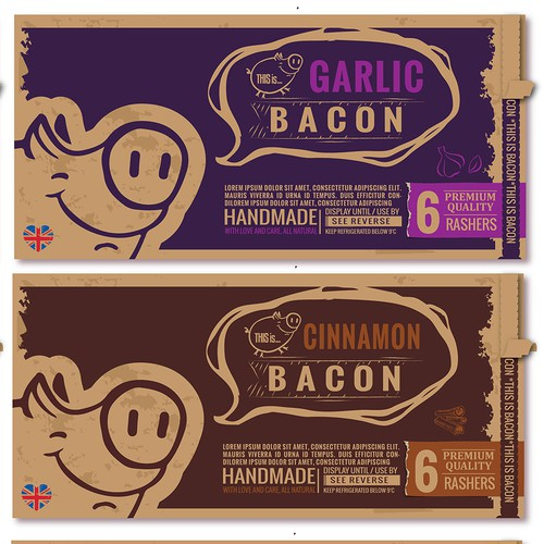 Make Bacon look good!