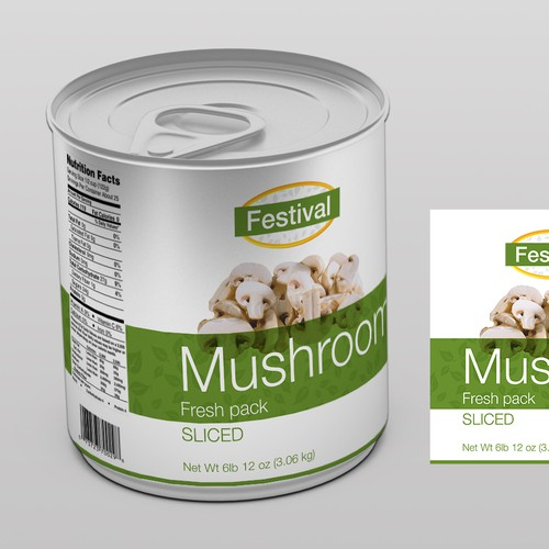New Labels and Logo  for Festival Brand Foods
