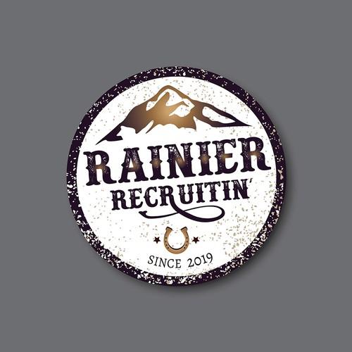 Rainier Recruitin' sticker