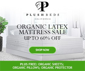 Labor Day Sale Banners For Organic Mattress Company
