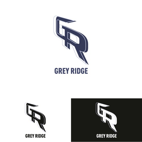Grey Ridge Logo design