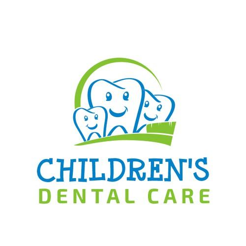 Logo for children's dentisty