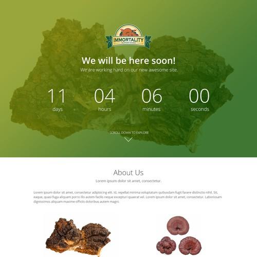Countdown Landing Page
