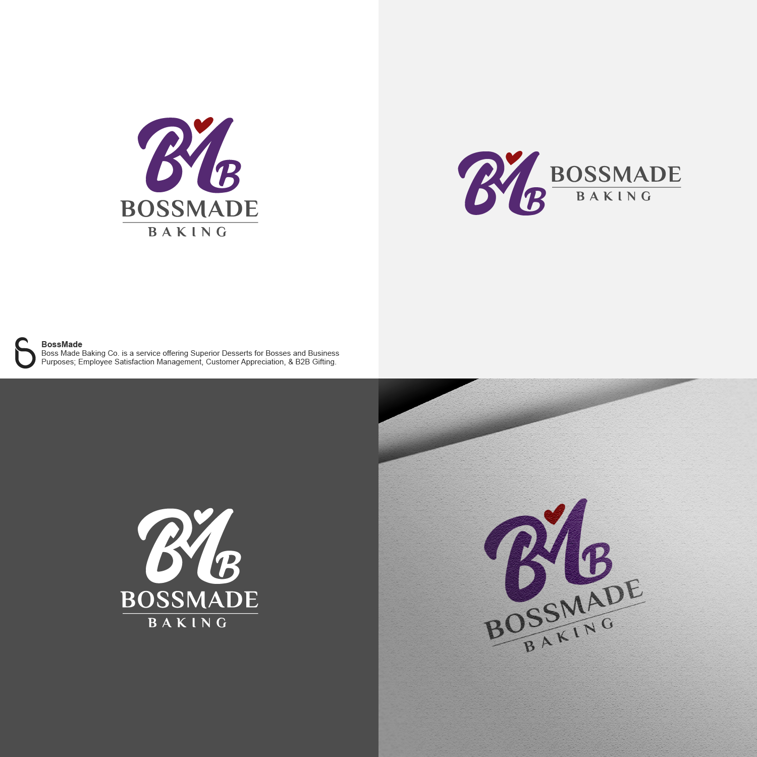 Calling all BOSS designers!  We need a BossMade Logo to Stand out for BossMade Baking Company