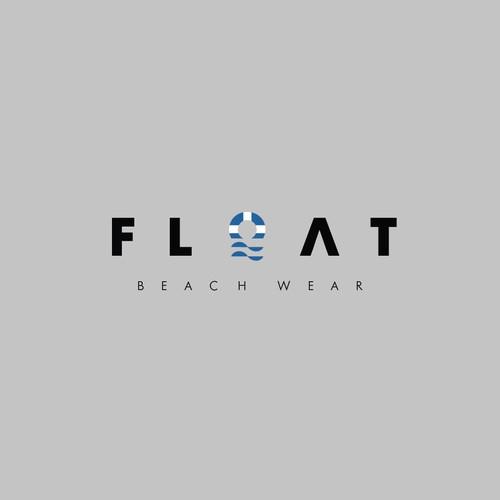 Modern logo for float beach wear