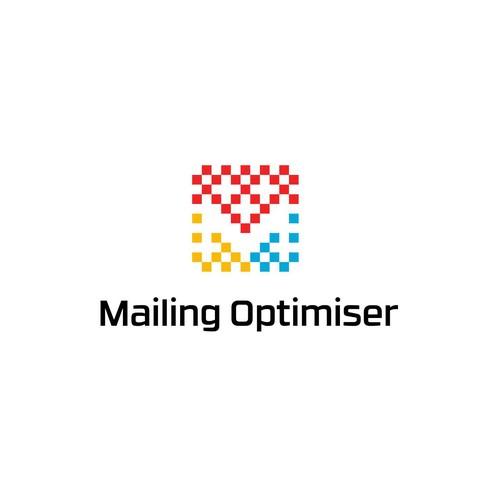 concept logo for a mailing app