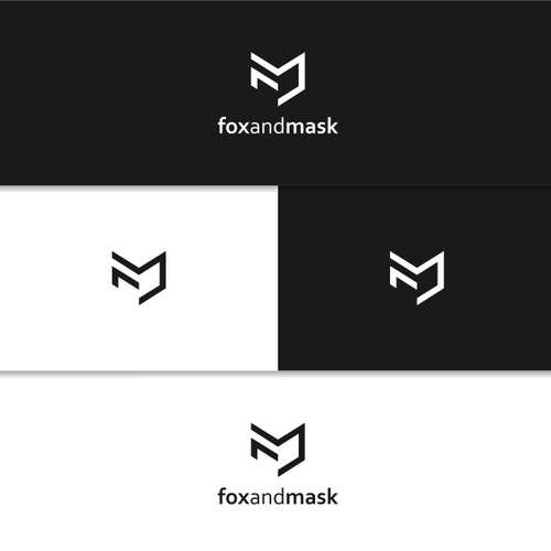 "logo for men's fashion label ""fox and mask"""