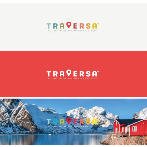 Logo for travel company / app