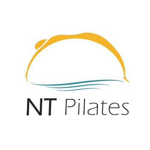 Logo concept for pilates gym