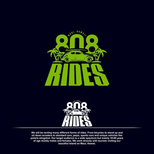 808 Rides Logo Design