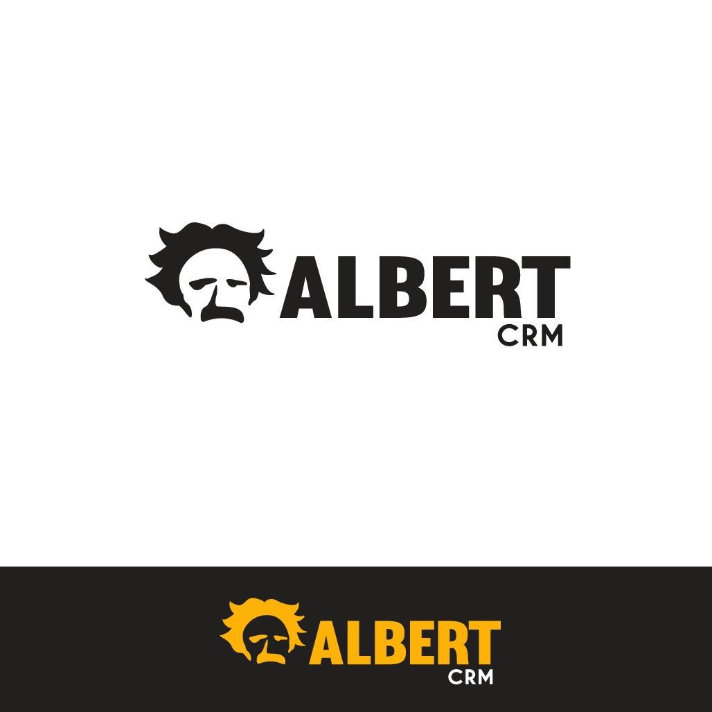 Albert logo design