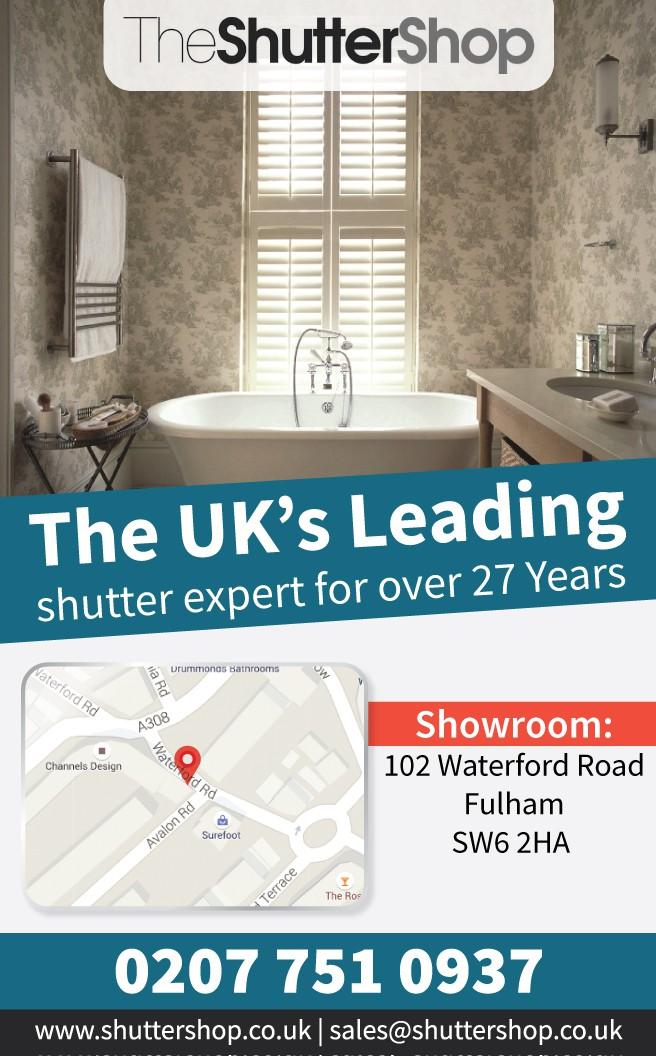 Advert design for national interior magazine