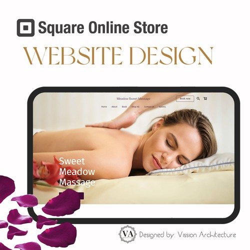 SQUARE ONLINE STORE | Design for Sweet Meadow Massage