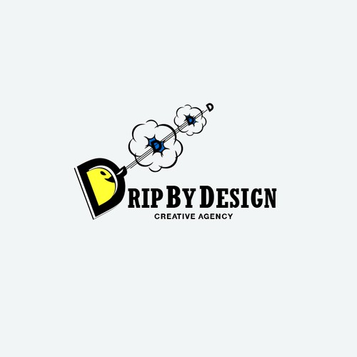 "Logo for a Creative Agency ""Drip By Design"""