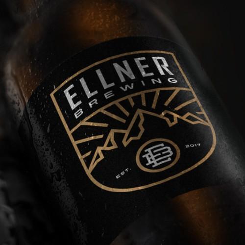 Logo proposal for Ellner Brewing.
