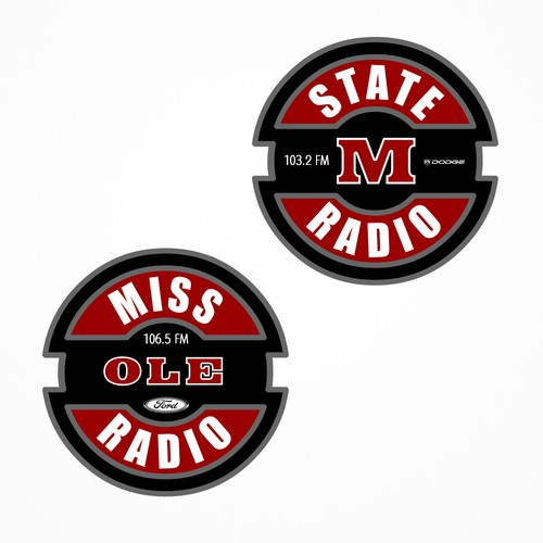 Sports Team Radio Logo