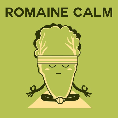 Food Pun Romaine