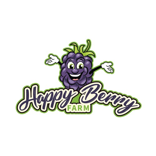 Happy Berry Farm mascot