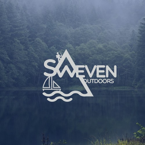 Logo for outdoors and sailing company