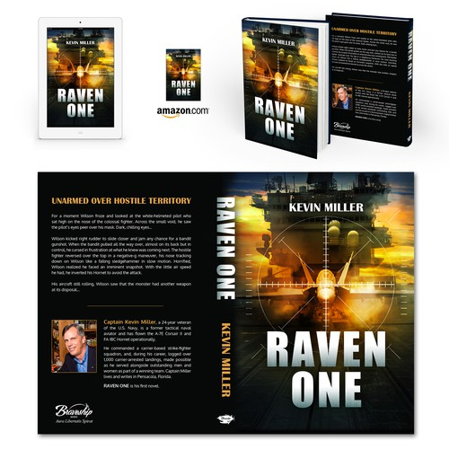 "Book cover for ""Raven One"" by Kevin Miller"