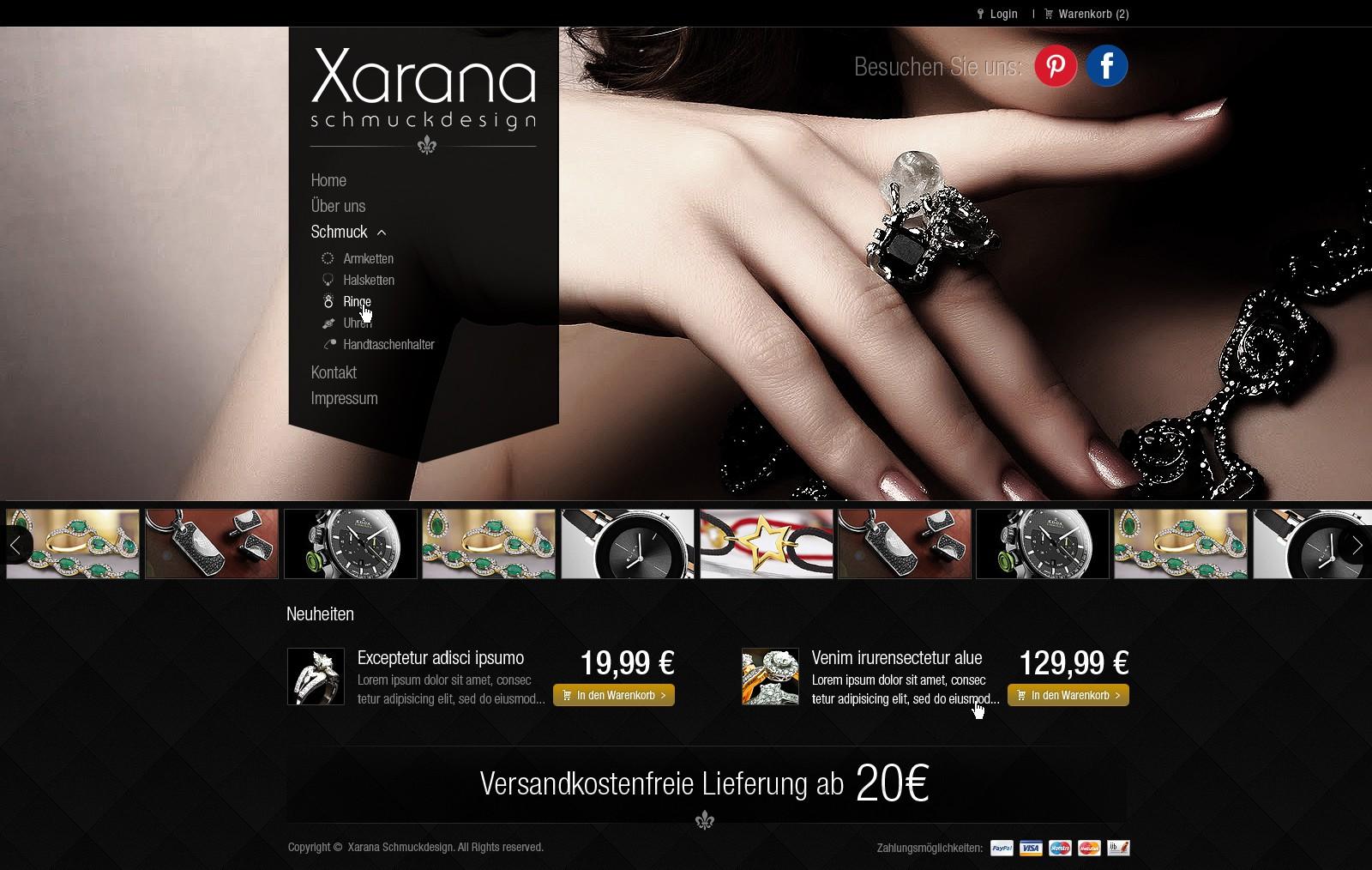 Help Xarana to a new website design!