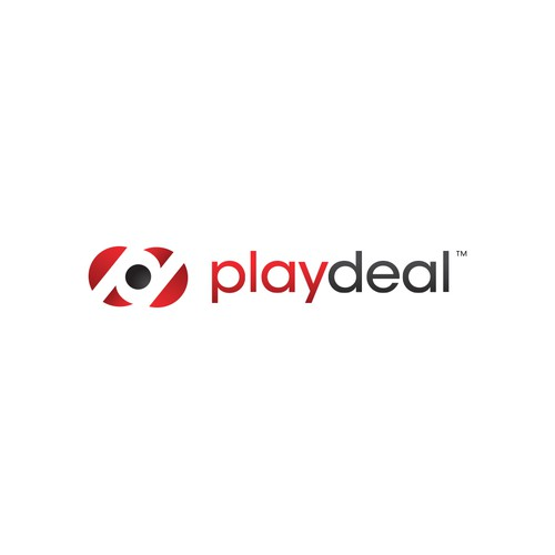 logo and business card for Playdeal