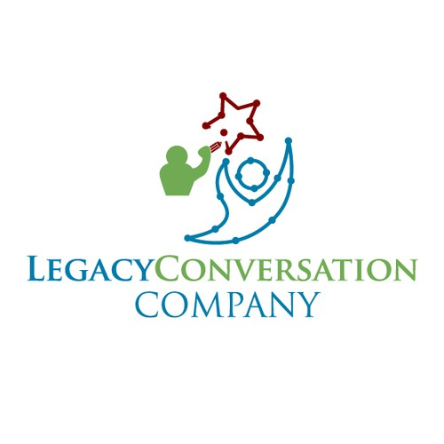 Create a logo for the Legacy Conversation Company