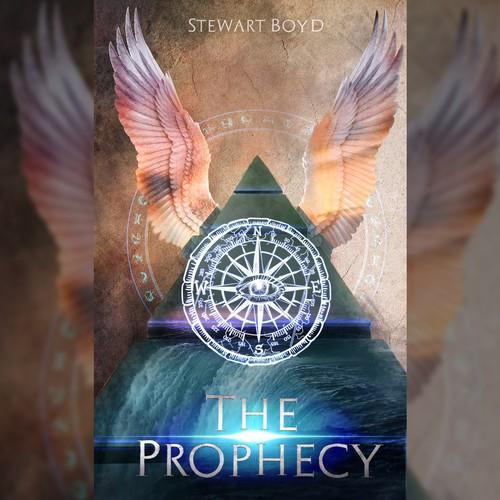 Mystery book cover design