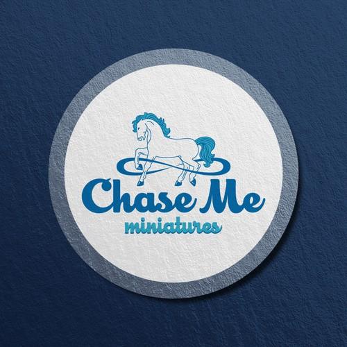 A Captivating logo for Miniature Horse Farm.