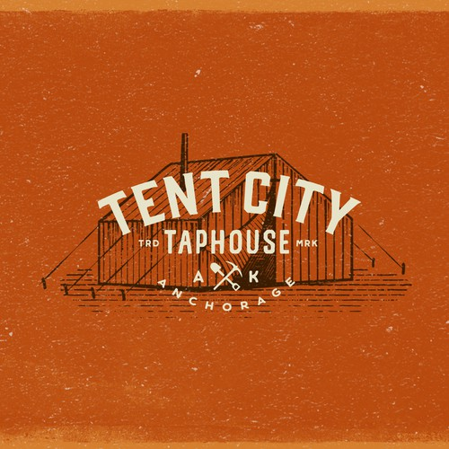 Logo design concept for a Taphouse