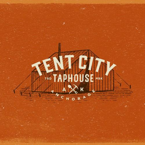 Logo design concept for a Taphouse