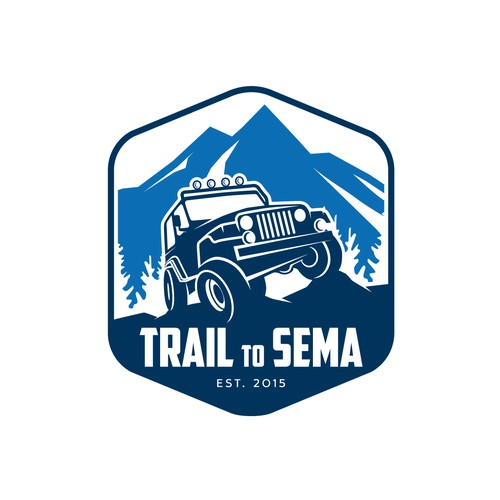 Design a hip logo for an Off-Road Adventure road trip!