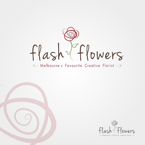 Help Flash Flowers with a new logo and business card